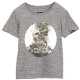 Mighty Fine Messy Hair Don&t Care Tee (Little Boys)