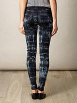 Current/Elliott Tie-dye low-rise skinny jeans