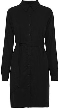 Line Ariel Belted Tencel-twill Mini Shirt Dress