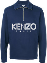 Kenzo zip placket top