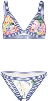 Zimmermann Allia floral print bikini