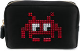 Anya Hindmarch Space Invaders Make-Up Pouch