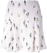 Kenzo 'Cartoon Cactus' skirt - women - Polyester - 40