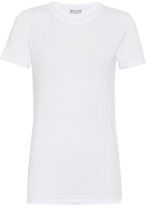 Brunello Cucinelli Stretch-cotton T-shirt