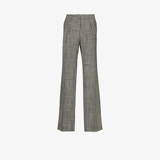 Tom Ford Atticus checked wool trousers