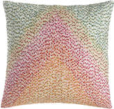 Pine Cone Hill Pointillism Embroidered Pillow