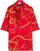 Balenciaga Printed T-Shirt with Scarf