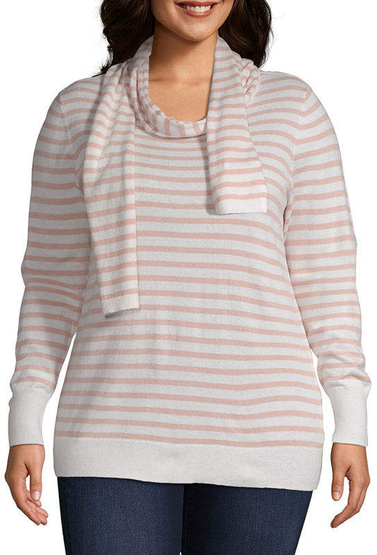 a0e754cce Stripe Sweater - Plus