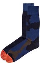 Camo Jacquard & Plain Sock Set