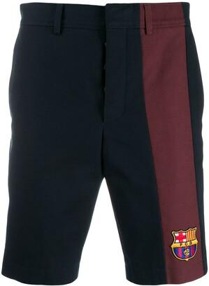 Thom Browne FCB patch chino shorts