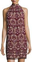 Max Studio Floral-Printed Sleeveless Shift Dress, Multi