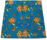 Gucci Children's floral bouquet print skirt