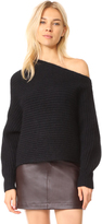 Alexander Wang Chunky Asymmetrical Sweater