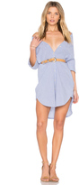 Maison Scotch Clean Summer Long Shirt Dress