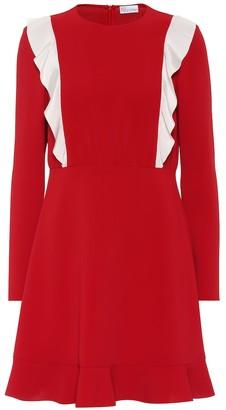 RED Valentino ruffled crepe dress