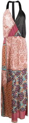 Pinko Floral Print Maxi-Dress