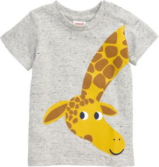Seed Heritage Giraffe Print T-Shirt