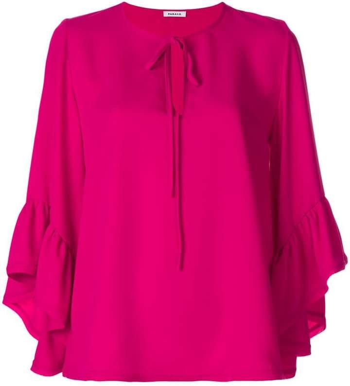 P.A.R.O.S.H. ruffled sleeves blouse