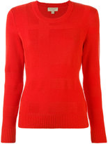 Burberry crew neck jumper - women - Cashmere/Wool - S