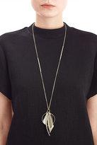 Alexis Bittar Crystal Encrusted Multi Charm Pendant Necklace