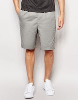 Pull&Bear Chino Shorts In Gray