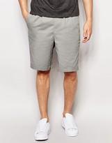 Pull&bear Chino Shorts In Grey