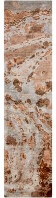 "Scylla Rust/Taupe Area Rug Brayden Studio Rug Size: Runner 2'6"" x 8'"