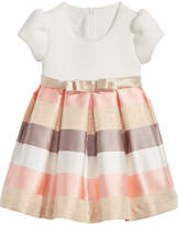 Bonnie Baby Striped-Skirt Dress, Baby Girls
