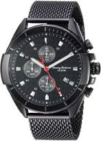 Tommy Bahama Men's Quartz Stainless Steel Casual Watch, Color:Black (Model: TB00011-06)