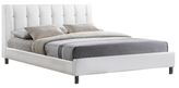 Vino Bed with Upholstered Headboard