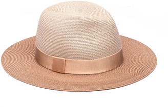 Eugenia Kim Courtney Colorblock Straw Fedora