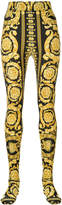 Versace baroque full foot leggings