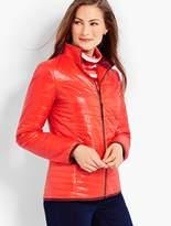 Talbots Quilted Cire Primaloft(R) Jacket