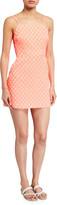 Milly Bernadene Floral Cloque Short Dress