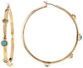 Cole Haan Turquoise Hoop Earrings