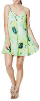 GUESS Pleated Floral Dress