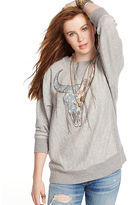 Denim & Supply Ralph Lauren Oversized Graphic Sweatshirt