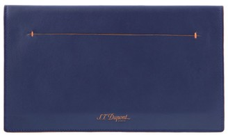 S.t. Dupont Leather Slim Travel Organizer