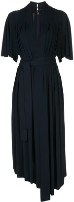 Adam Lippes Asymmetric Jersey Dress