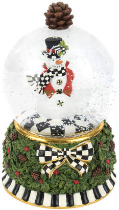 Mackenzie Childs MacKenzie-Childs - Snowman Snow Globe