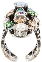 Lanvin stone cluster ring
