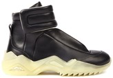 Maison Margiela Future Black Leather High-top Sneakers