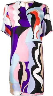 Emilio Pucci Vallauris Print Mini Dress