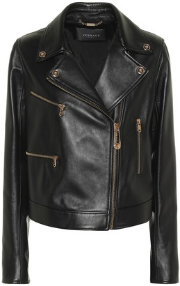 Versace Safety Pin leather jacket