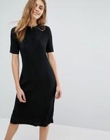 Pull&Bear Plisse Dress