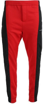 Givenchy Red And Black Logo Jogger Pants