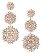 Adriana Orsini Anise Long Crystal Drop Earrings