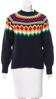Stella Jean Wool Intarsia Sweater