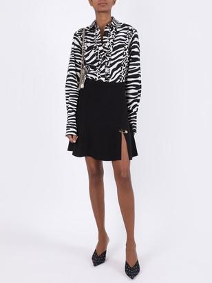 Versace Medusa Pin Skirt Black