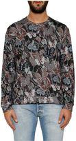 Valentino 'camubutterfly' Print Sweatshirt